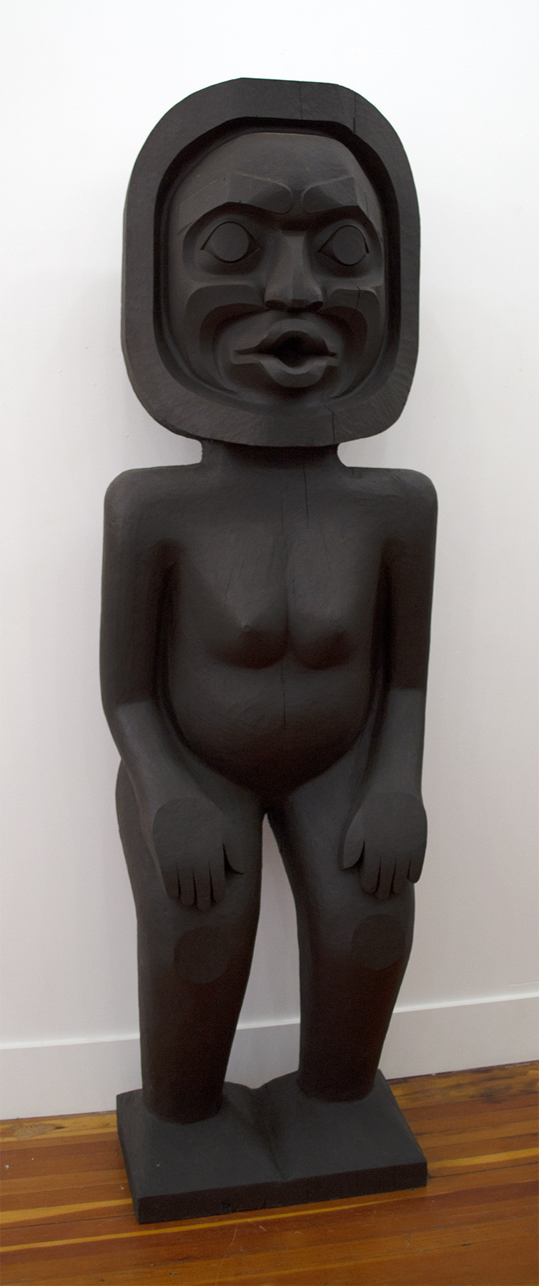 Dzunukwa Figure Pole, 2017