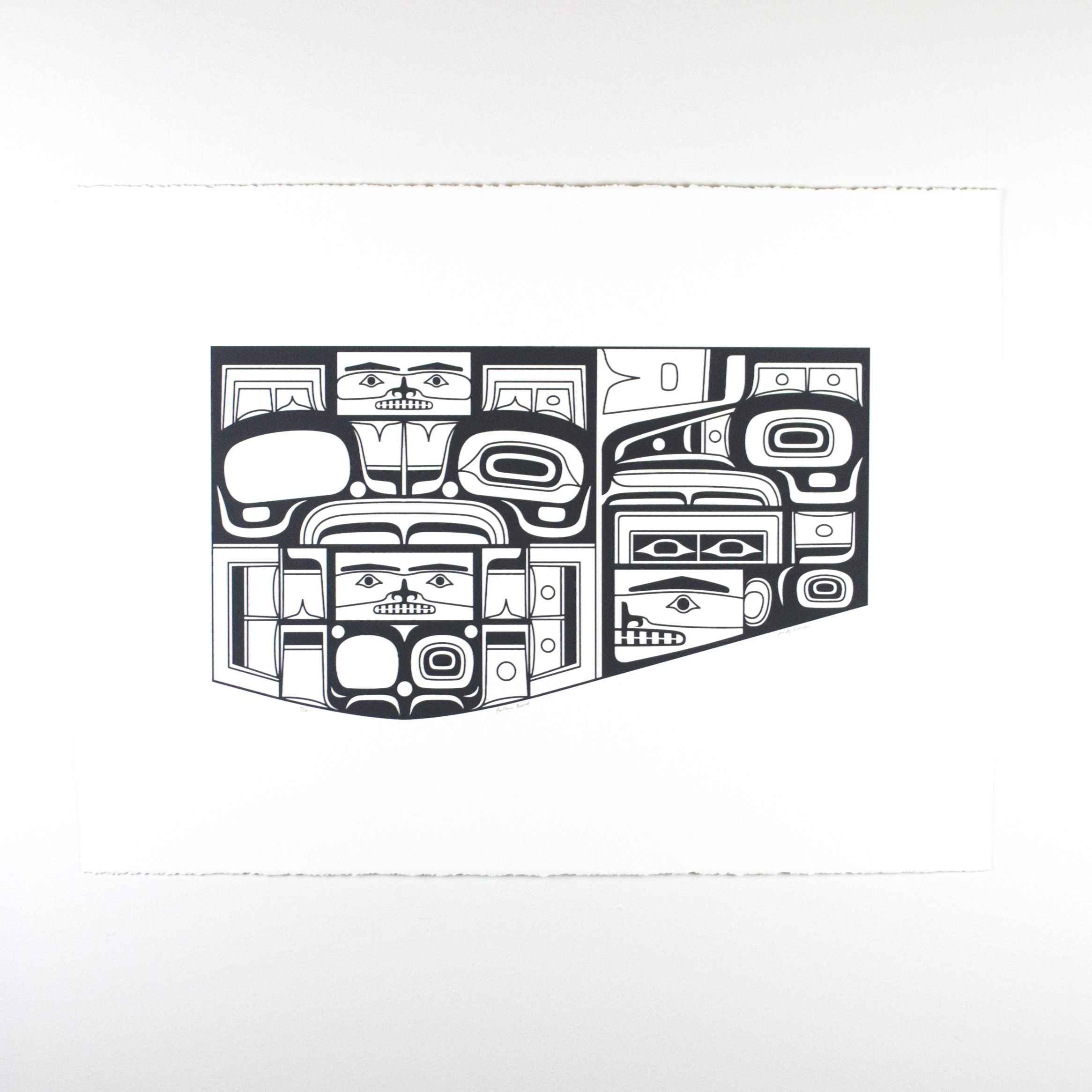 "Pattern Board, Andy Everson (Salish & Kwakwaka'wakw), Serigraph ed. /10, 22 1/2"" x 30"", $370 unframed"