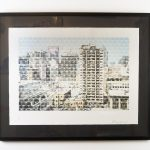 "Montreal Ovoids, John Bennett (Haida), Limited edition lithograph /28, 32"" x 25 1/2"", $800 framed"