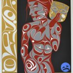 "A Spirit Within, Rande Cook (Kwakwaka'wakw), Remarque, 28 1/2"" x 36"", SOLD"