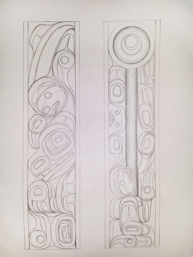 Custom Carved Panels process, Phil Gray (Tsimshian)