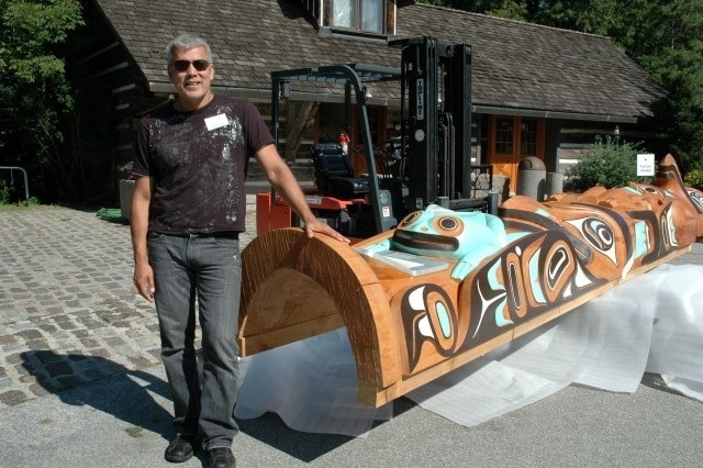 2009 McMichael Canadian Art Collection, Kleinberg ON, Don Yeomans (Haida), *Steve Weir photos