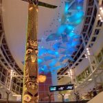 2006 Don was commissioned to carve two 34-ft totem poles for the new wing of the Vancouver International Airport, which was raised in 2008.