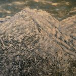 Winter Summit, Trace Yeomans (Haida), Oil on canvas, 6' x 4', $5,000