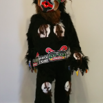 Bookwus Costume - Beau Dick (Kwakwaka'wakw) - 8' x 2' x 3' (Approx) - SOLD