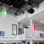 """Images courtesy of Toni Hafkenscheid, """"Nitsiit"""" Installation at Sheridan College, Couzyn van Heuvelen, Part of Sheridan's 2017-2018 Temporary/Contemporary Project, Presented in collaboration with the Art Gallery of Mississauga"""