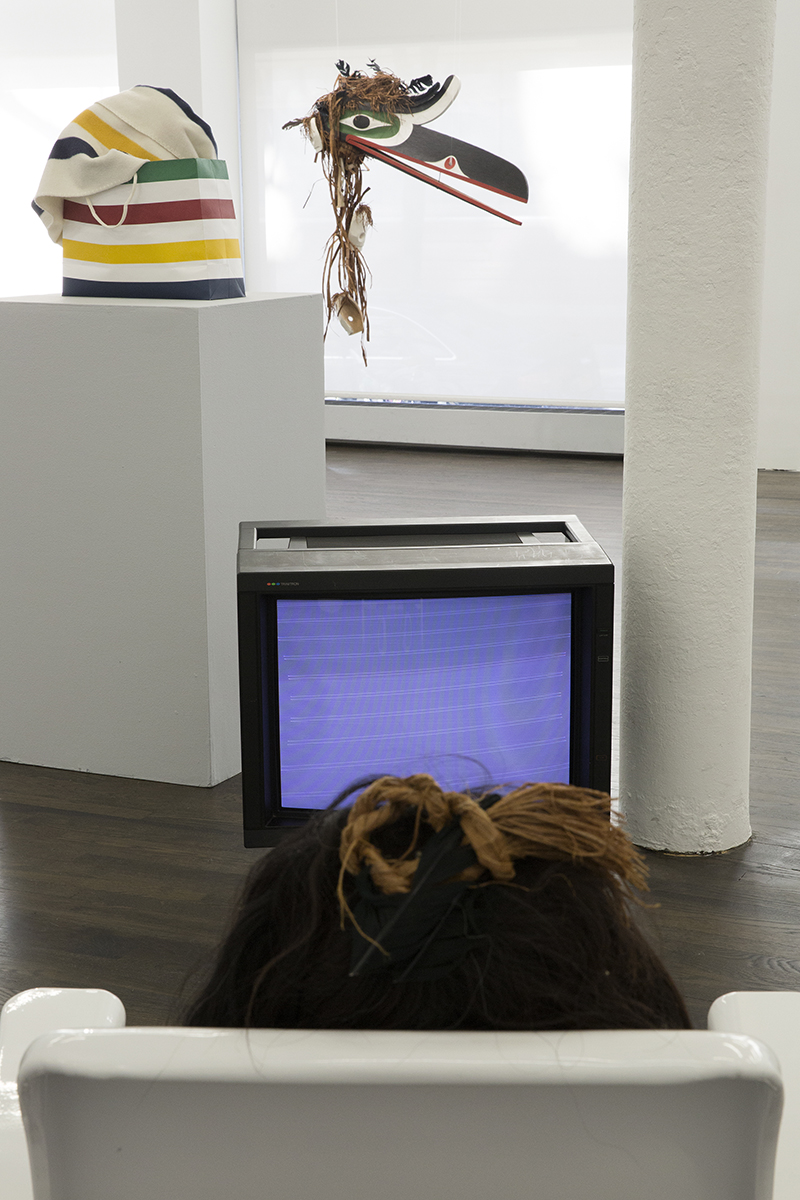 Devoured by Consumerism at White Columns, New York, NY. Photo by Marc Tatti