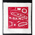 Tlingit Box Abstract II V1, 2020