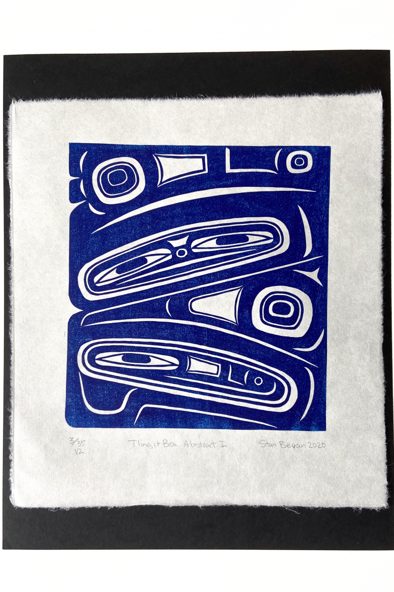 Tlingit Box Abstract I V 2, 2020