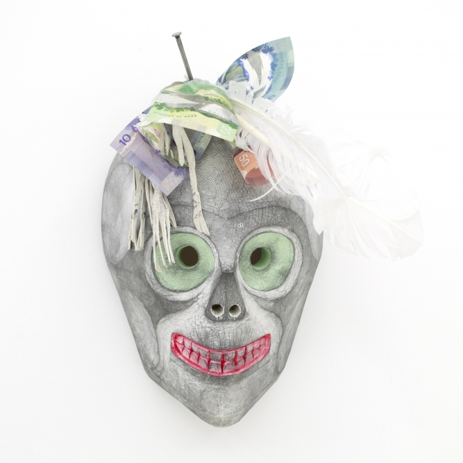 Ghost of Christmas Presents Mask, 2016