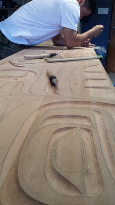 Custom Carved Panels process
