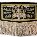 "Anna Brown Ehlers (Tlingit), Brown Twins of Starr Hill Chilkat Blanket, Wool, 68""x 51"", POR"