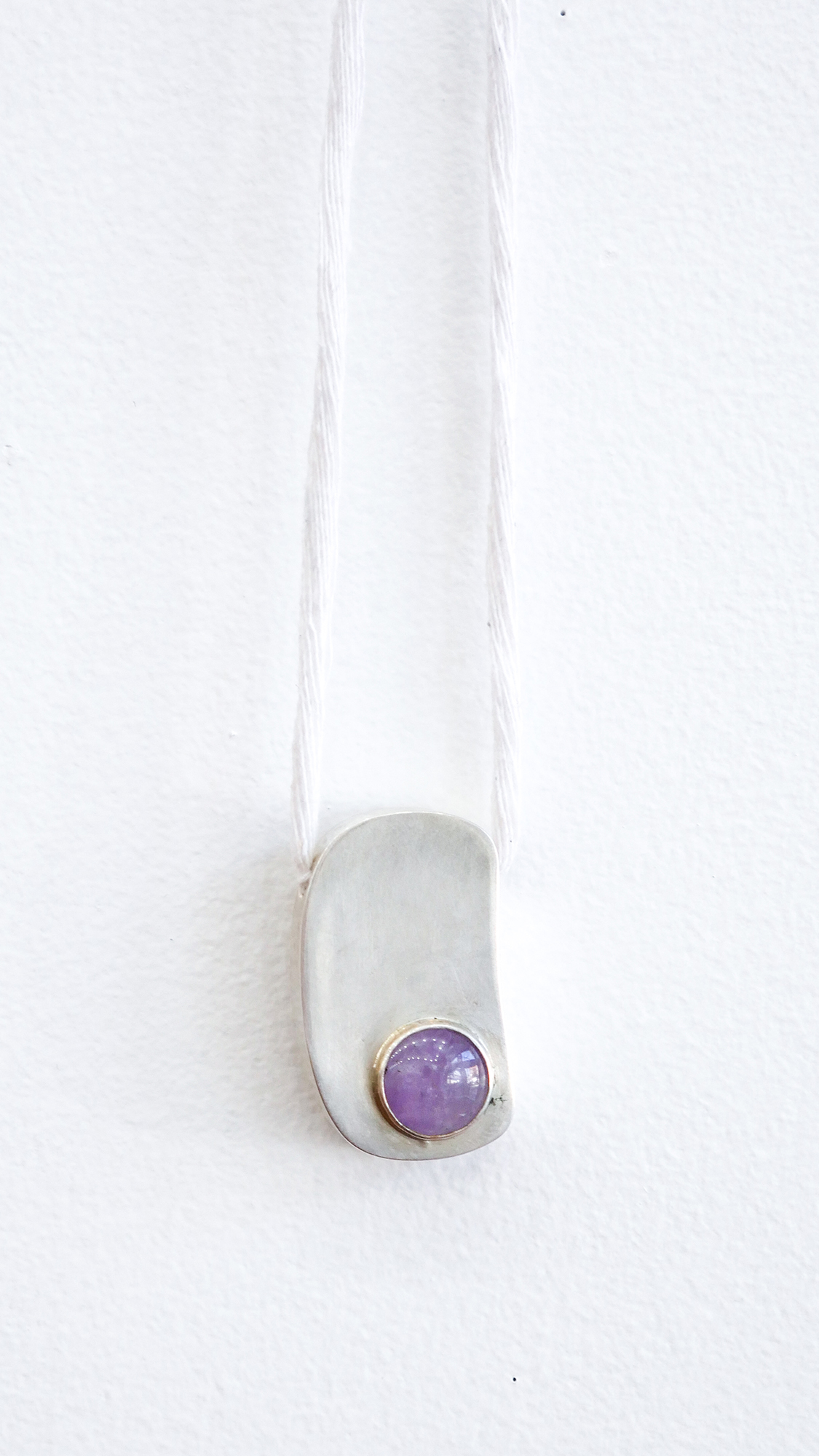 Pendant with Lavender Jade, 2019