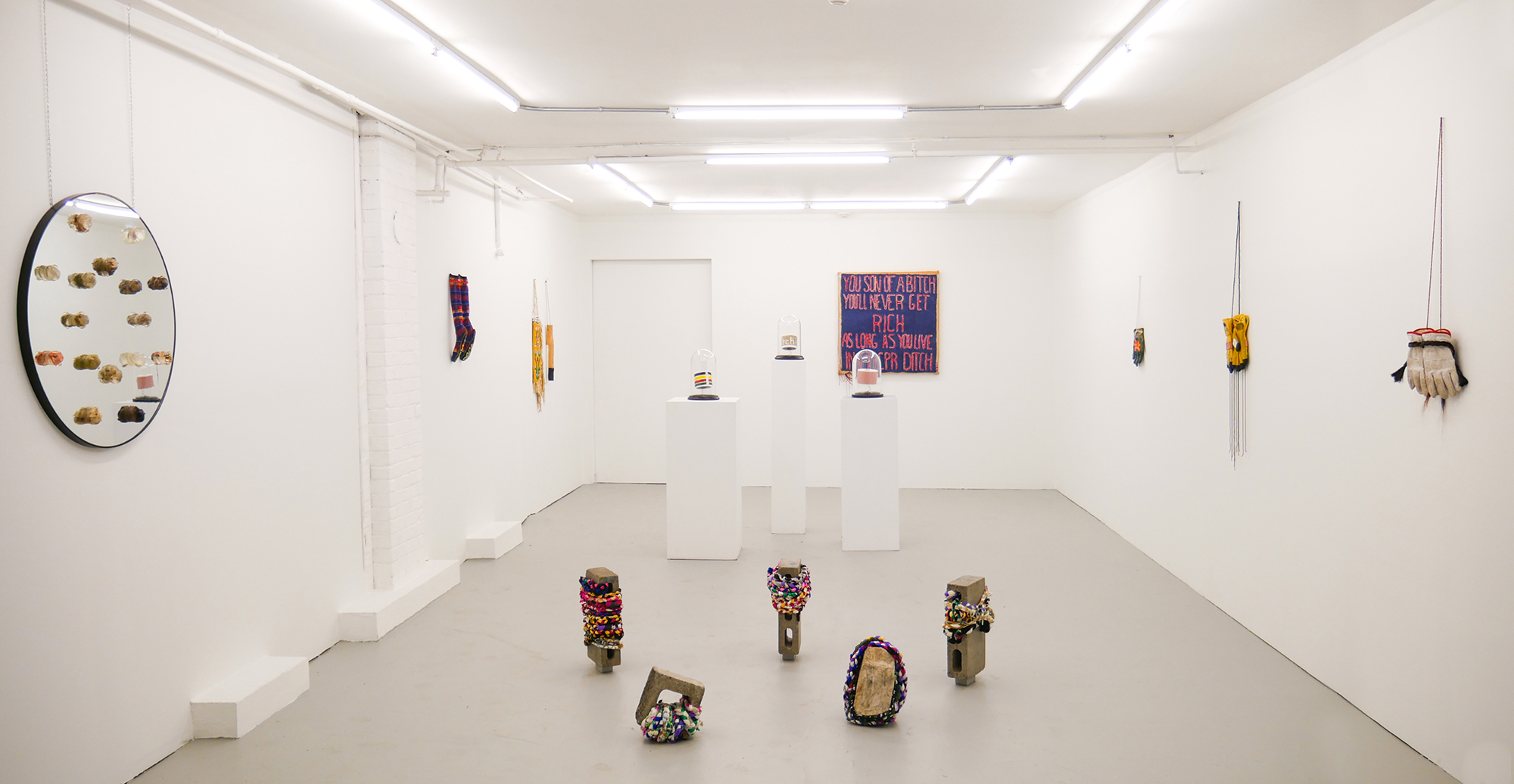 Audie Murray installation view